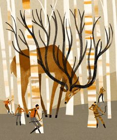 :: Sweet Illustrated Storytime :: Illustration by Keith Negley