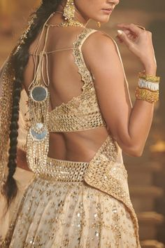 Bride And Son, Heavy Lehenga, Indian Aesthetic, Sparkling Stars, Mirror Work, Spring Couture, Blouse Neck Designs, Bridal Shoot, Groom And Groomsmen