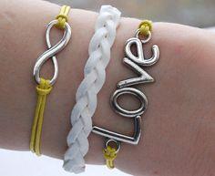 Antique Silver Bracelet, Infinity Bracelet, Love Bracelet, Infinity Jewelry, Love Jewelry, Everyday Bracelet