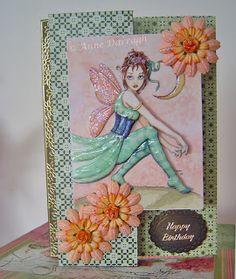 3D Fairy Flip Card Flip Cards, Flipping, Paper Dolls, Cardmaking, Fairy, Paper Crafts, Templates, 3d, Frame