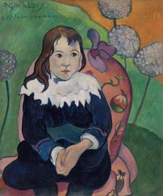Paul Gauguin, Mr Loulou, 1890, Barnes Foundation, Philadelphia