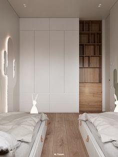 Kids Room Design, Home Room Design, Home Interior Design, Interior Architecture, House Design, Closet Bedroom, Kids Bedroom, Bedroom Decor, Built In Wardrobe