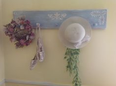 Lovely LOVELY Wall Decor Shelf, French Stencil in Lake Ann, Michigan ~ Apartment Therapy Classifieds