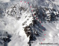 Cathedral Peak – The Pearl Couloir