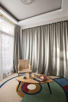 Apartment Avenue Bosquet, Paris, by Gérard Faivre - Tempo da Delicadeza