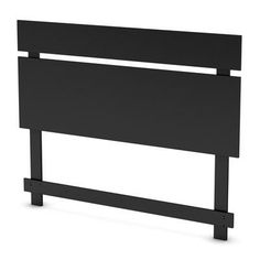 Guest room headboard?  South Shore - Spectra  Full/Queen Headboard Solid Black - 3270270 - Home Depot Canada