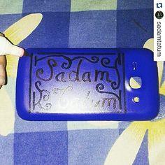 Custom Handphone Casing Spidol Snowman Marker