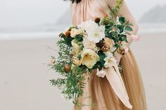 Gorgeously styled wedding bouquet by Selva Floral Design