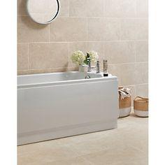 Wickes Mayfield Beige Ceramic Wall & Floor Tile 298x498mm £9.99/m2