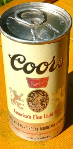 Great gift for men…retro mini-beer can…only 7 ounces…#ConceptOne #Coors #Beer