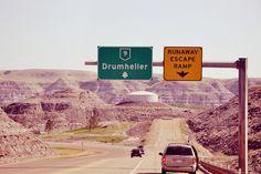 Canadian Badlands  Drumheller, Alberta, Canada