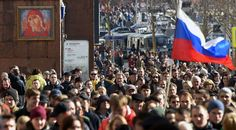 Thousands of people gathered in Moscow and other major Russian cities on Sunday, heeding a call by opposition leader Alexei Navalny to protest against official corruption in what appeared to be some of the largest anti-government demonstrations in the last five years.