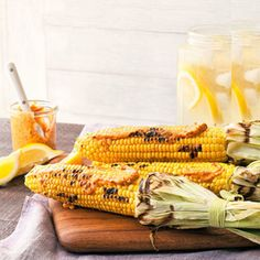 Grilled Corn with Chile Butter - Rachael Ray Every Day