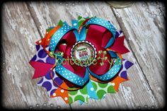 Mommy is the Bow Addict Hair Bow  Boutique Hair by tootoocute4you