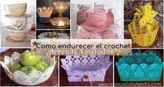 Como endurecer el crochet – 3 métodos