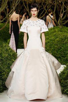 Lujo y sofisticacion en la Alta Costura: Christian Dior Haute Couture Primavera/Verano 2013