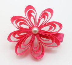 Loopy Flower clip $4.50