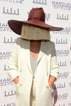 Pin for Later: This Year's Hottest Pop-Culture-Inspired Costumes Sia  What to wear: Pretty much anything you want — you just need a blonde wig worn backwards. How to act: Don't say anything. You are here for the art.