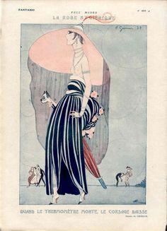Charles Gesmar 1922  for Fantasio magazine