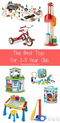 The Best Toys For Toddlers 2-3 Years Old | Spit Up And Sit Ups the best toys for kids, christmas gifts for two year old, christmas gifts for three year old, christmas gifts under $25, christmas gifts under $75, non-electronic toys for toddlers, toddler fun, christmas ideas for kids, holiday toys for toddlers via @ashleysuasu