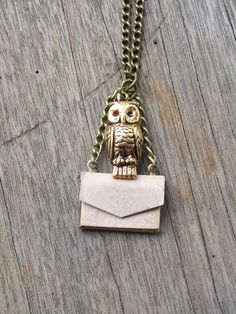 HP owl post necklace $14.00