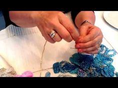 Creazioni di Licena: tutorial fiori di perle veneziane parte 2 - YouTube