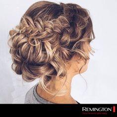 Para una ocasión especial, es necesario llevar un peinado único. Si tienes algún evento próximo no dudes en llevar un recogido como este para lucir lindísima. #hair #hairstyle #lovely #woman #fashion #trendy