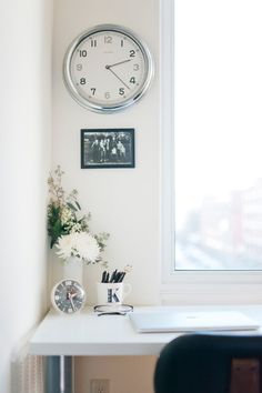 Kate Arends' Minneapolis Apartment Tour #theeverygirl #office
