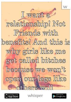 I want a friends with benefits