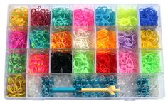 Rainbow+Loom+Style+Rubber+Band+Bracelets+Kit+-+Make+Up+to+78+Cool+Custom+Wristbands+-+22+Fun+Colors+%282200+Silicone+Bands%29+with+Supersize+Organizer+Case+Plus+Room+for+Refills+-+Instructions%2C+Loom%2C+Hook%2C+Mini-Loom+and+100+clips+-+Money+Back+Guaran http://www.amazon.com/Rainbow-Loom-Style-Rubber-Bracelets/dp/B00HSSRNB6
