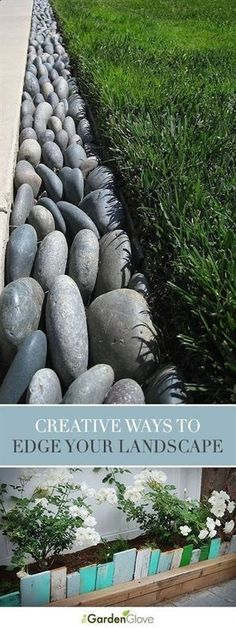 Best Diy Crafts Ideas For Your Home : Creative Ways to Edge Your Landscape Tips & ideas! #landscapingtips #landscapingdiy #LandscapingDIY
