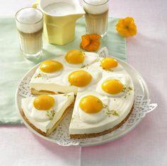 Unser beliebtes Rezept für Pfirsich-Spiegelei-Torte (Diabetiker) und mehr als 55.000 weitere kostenlose Rezepte auf LECKER.de.