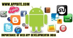 The importance of web app development has provided an efficient and effective route to deal with foreign client aimed at purely gain with cost cutting method. The system of web application is not only importance for making client or facilitating proper communication with client but also for making business relations strength and workable. http://www.appdite.com