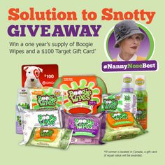 Has back to school brought colds, flu and runny noses to your house as your kids share bugs and germs with their classmates? If so, we have a great new give away for you! One lucky winner will rece...
