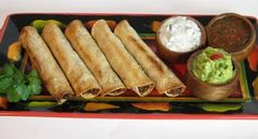 For the Love of Cooking » Baked Shredded Beef Taquitos