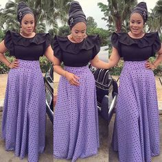 Admirable Ankara And Aso Ebi Styles For Beautiful Ladies