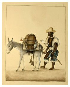 002 Aguador- década 1830-40- Pancho Fierro-NYPL - Cesar Ojeda