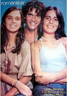 revista romantica-1978-poster-lidia blondi -lauro corona e gloria pires