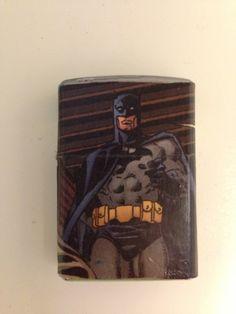 Batman Zippo Lighter from Comic Books by nerdyhussy on Etsy, $30.00