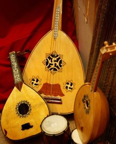 Arabic oud (lute) ~ Egyptian Pavilion, Global Village, Dubai