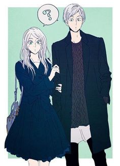 When you realize Lev's sister is tall as heck