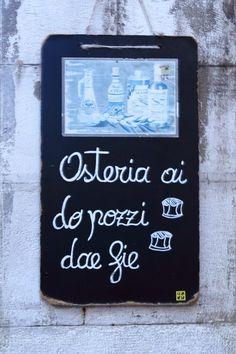 Osteria Ai Do Pozzi Dae Fie - Venezia