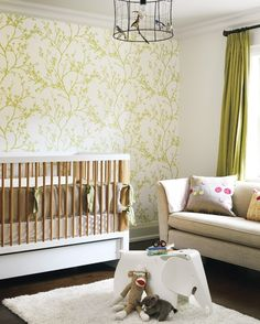 Nursery / accent wall / birdcage