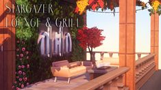 """okruee: """" Stargazer Lounge & Grill: """"A few people asked for this so here it is! It's basically a redux of that rooftop lounge from City Living, made into a functioning restaurant/lounge! Sims 4 Restaurant, Rooftop Restaurant, Types Of Communities, Sims 4 City Living, Brick Archway, Sims Building, Rooftop Lounge, Sims Cc, Neon Lighting"""