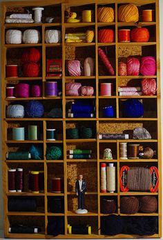POOKA toys workshop! crafts storage, yarns, wool, sewing
