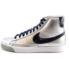 Nike Blazer Mid GS Synthetic Sneakers | eBay