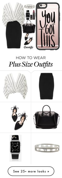 """Tuesday..YOU GOT THIS"" by casetify on Polyvore featuring Manon Baptiste, Free People, Givenchy, Casetify, Lipstick Queen and Tiffany & Co."