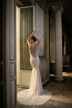 WedLuxe – Berta Bridal – S/S 2016 Collection | Follow @WedLuxe for more wedding inspiration!