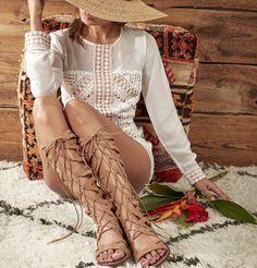 The Ultimate Lace up Sandal  Love Sam Edelman Gena Gladiator Sandal $175 ☎️ 210-824-9988