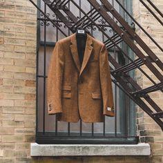 Haberdash Bespoke 607 - Hackett Donegal Tweed Jacket.